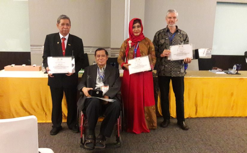 Leprosy Study Group presented papers in the 15th Annual Indonesian Dermatologist and Venereologists Conference (KONAS PERDOSKI XV) in Semarang, Central Java