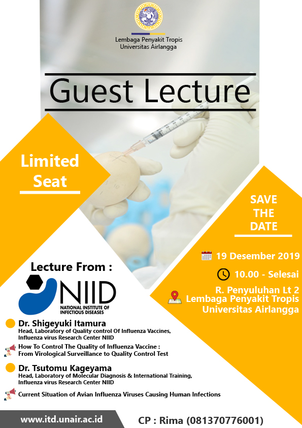 guest lecture influenza